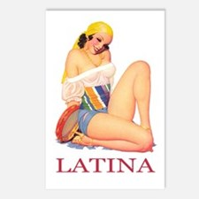 Latina Postcards (Package of 8)