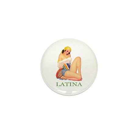 Latina Mini Button (100 pack)