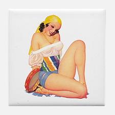 Latina Tile Coaster