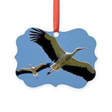 White Storks - Ornament