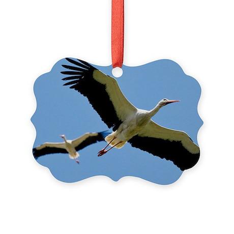 White Storks - Picture Ornament