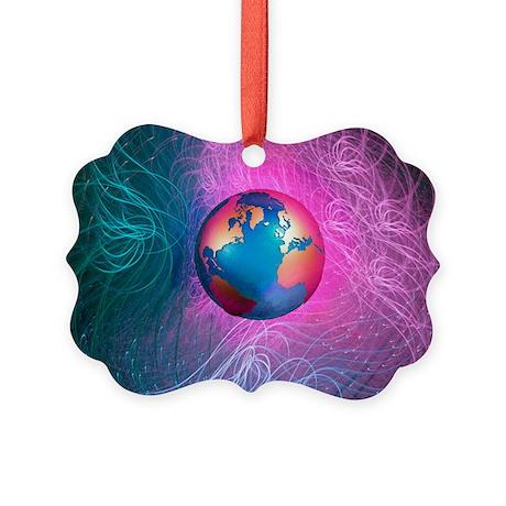 World wide web, conceptual artwork - Picture Ornam