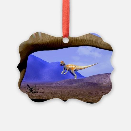 Allosaurus and Diplodocus - Ornament