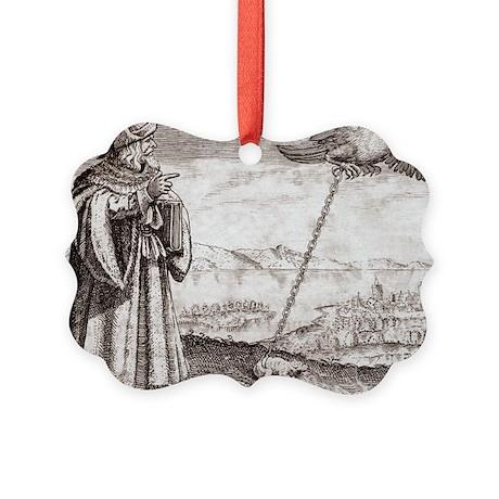 Avicenna, Persian philosopher - Picture Ornament