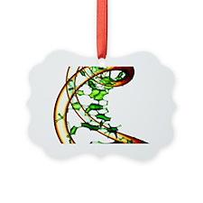 DNA molecule, conceptual artwork - Ornament