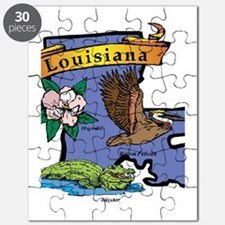 Louisiana Map Puzzle