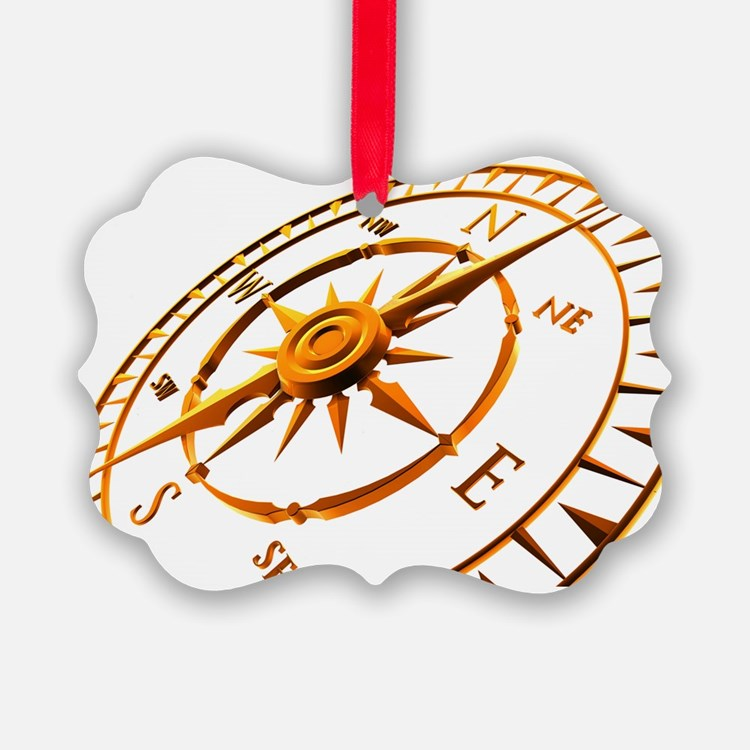 Compass rose - Ornament