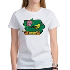 Iowa Map Tee