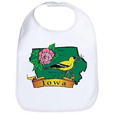 Iowa Map Bib