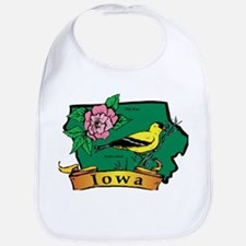 Iowa Map Bib