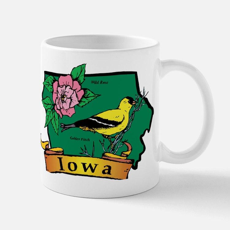 Iowa Map Mug