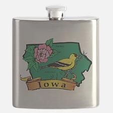 Iowa Map Flask
