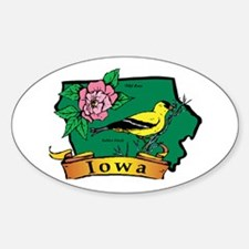 Iowa Map Stickers