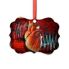Human heart, artwork - Ornament