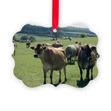 Jersey cows - Ornament