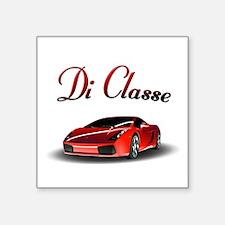 """Di Classe Square Sticker 3"""" x 3"""""""