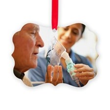 Nebuliser use - Ornament