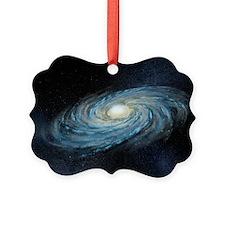 Milky way galaxy, artwork - Ornament
