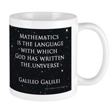 Galileos Universe Small Mug