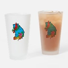 Georgia Map Drinking Glass