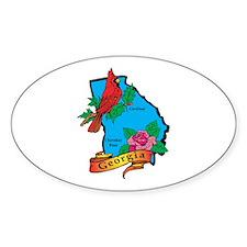 Georgia Map Decal