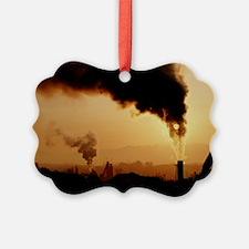Smoke plume from asphalt plant - Ornament