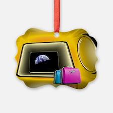 Space tourism, artwork - Ornament