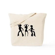 Disco Silhouettes Tote Bag