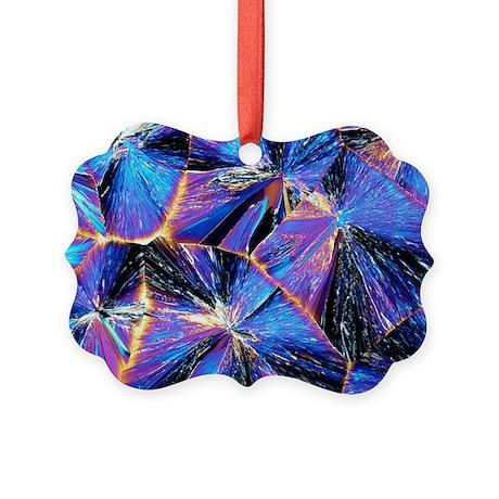 Tartaric acid crystals, light micrograph - Picture