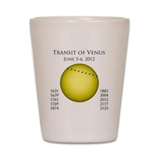 Transit of Venus Shot Glass