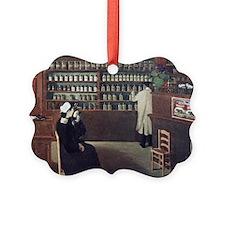 The Pharmacy, 1912 artwork - Ornament