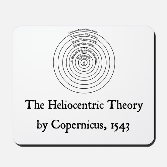 Heliocentric Theory Mousepad