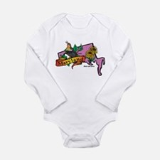 Maryland Map Long Sleeve Infant Bodysuit