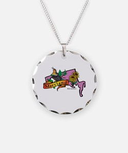 Maryland Map Necklace