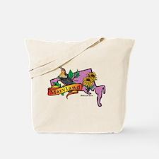 Maryland Map Tote Bag