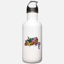 Maryland Map Water Bottle