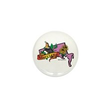 Maryland Map Mini Button (100 pack)