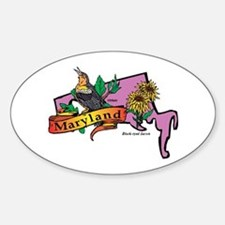 Maryland Map Decal