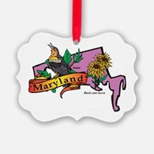 Maryland Map Ornament