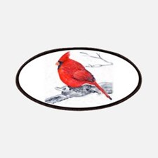Cardinal Painting Patches
