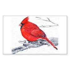 Cardinal Painting Decal