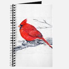 Cardinal Painting Journal