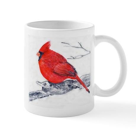 Cardinal Painting Mug