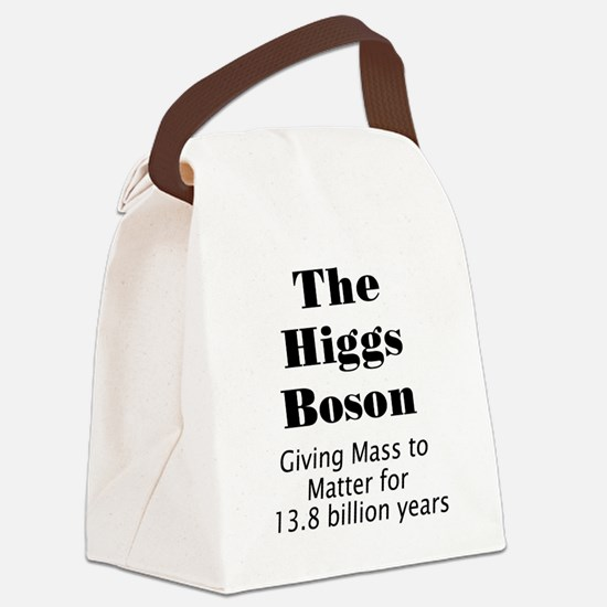 The Higgs Boson Canvas Lunch Bag
