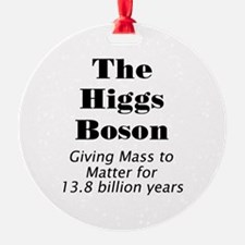 The Higgs Boson Ornament