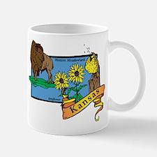 Kansas Map Mug