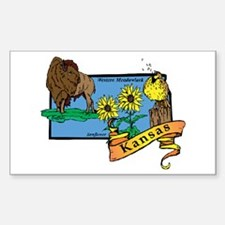 Kansas Map Decal