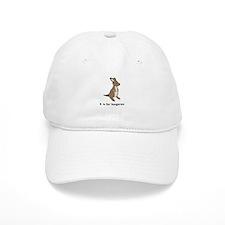 k is for kangaroo Baseball Cap