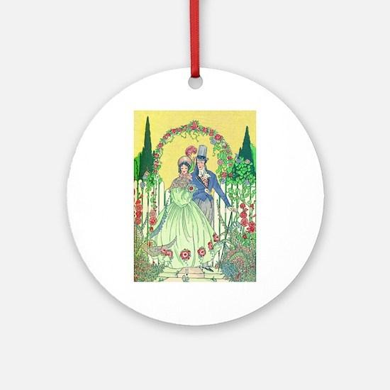 Regency Romance Ornament (Round)