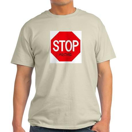 Stop Archie Ash Grey T-Shirt